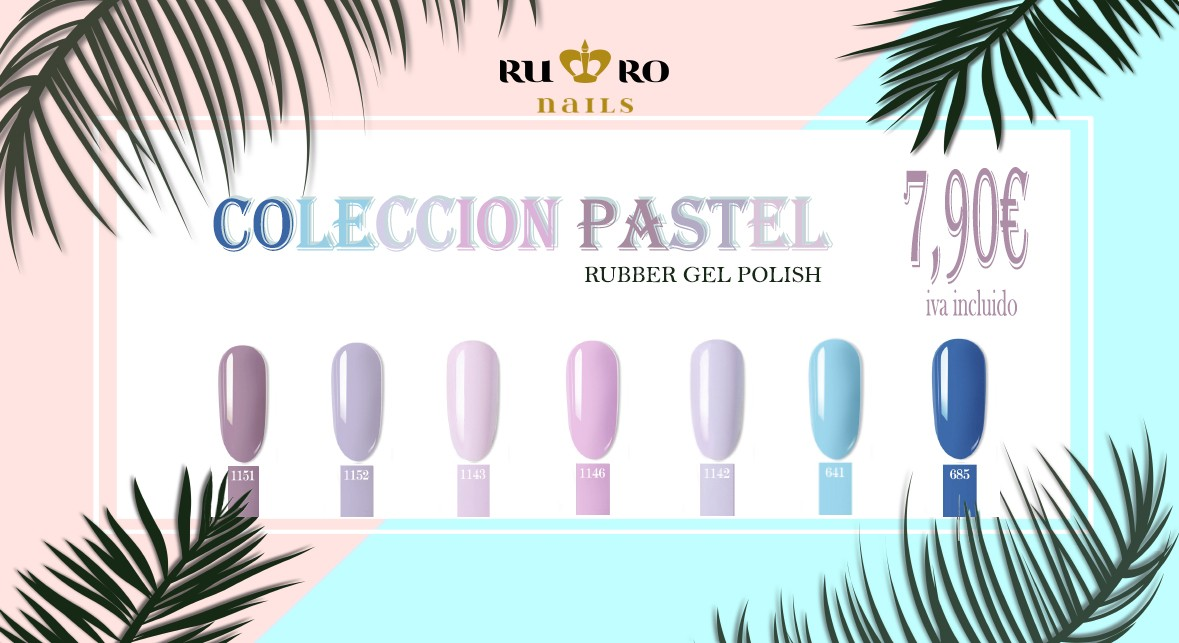 RUBBER PASTEL COLLECTION